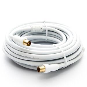 PremiumX-10m-IEC-Antennenkabel-Koax-Stecker-TV-Anschlusskabel-Fernsehkabel-Weis