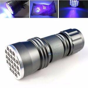 Outdoor-21-LED-UV-Ultra-Violet-Detection-Flashlight-Torch-Lamp-Light-Blacklight