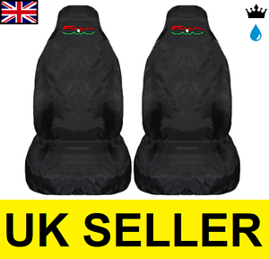 Image Is Loading FIAT 500 Gucci PREMIUM CAR SEAT COVERS PROTECTORS