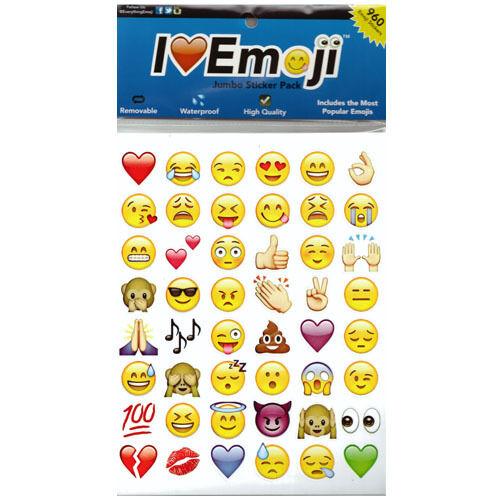 Hotsale Fashion Lovely 48 Die Cut Emoji Smile Face Sticker  Phone Laptop Decor