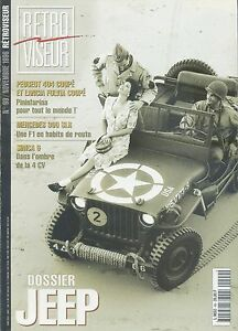 RETROVISEUR-n-99-11-1996-JEEP-PEUGEOT-404-LANCIA-FLAVIA-coupe