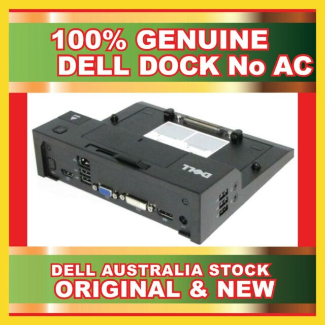 Dell PR03X Docking Station M4400 M4600 M4700 M6400 M6500 E-Port 3.0 USB No Ac