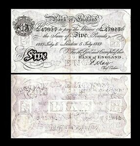 Grande-Bretagne - 2x  5 Pounds - Edition 1873 - 1893 - Reproduction - 14