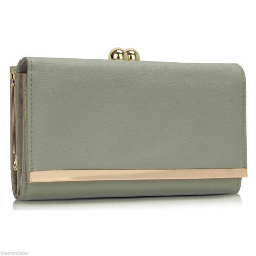 Women/'s Fashion Designer borse donna alta qualità faux leather wallet borsa moneta