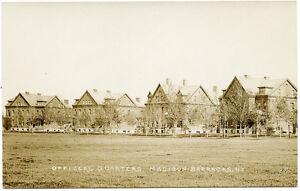 RPPC-NY-Madison-Barracks-U-S-Army-Sackets-Harbor-Brick-Officers-Quarters