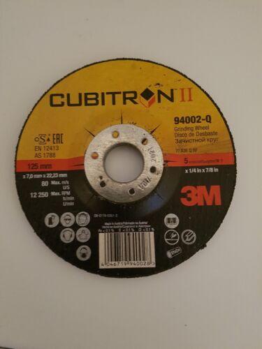 3M Cubitron II Schruppscheiben  125 x 7,0×22,23 mm Schleifen Stahl Inox 20 st.