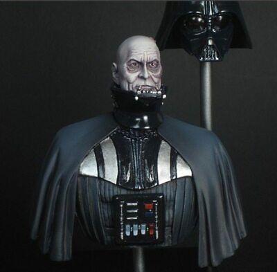 Classic 1:10 Star Wars Darth Vader Miniatures Unpainted Resin Bust Model  Kit   eBay