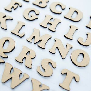 *4 FOR 3* Cooper Black font Wooden Letters /& Numbers Alphabet Letters /& Numbers
