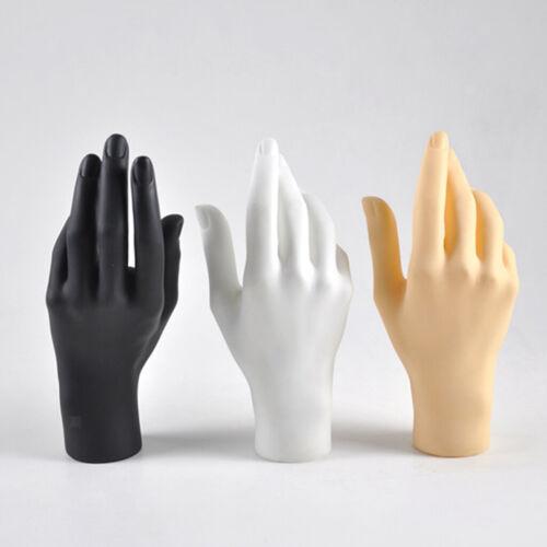 Weiblich Handmodell Mannequin Schmuck Uhren Handschuh Zeigen Schmuckhalter