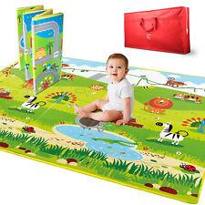 Hape E8372 5' x 5' Large 2 Sided Reversible Baby Activity Foam Foldable Play Mat