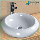 Above Counter Basin Bathroom Ceramic Elegant Unique Soft Round Shape Sink SALE!
