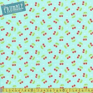 Riley Blake Fabric Honeycomb Dot Aqua HALF METRE