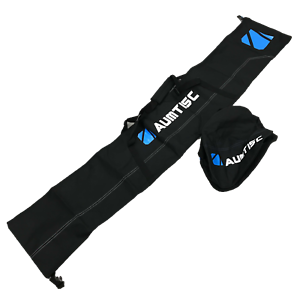 New Aumtisc Travel Ski Snowboard Travel Case Boot Bag Black Blue White 061521