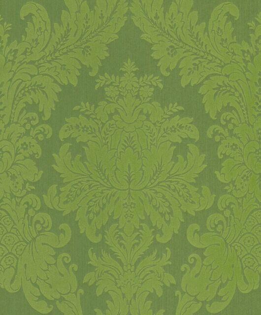 Barock-Muster Rasch Textil Ornament Cassata Textiltapete in 12 schönen Farben