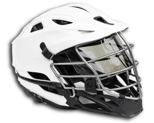 Smoke Tinted Colored EliteTek Football /& Lacrosse Eye-shield Visor