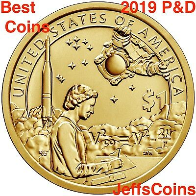 2 Coin Set  Fresh  B//U Coins. 2016 P /& D Native American Code Talkers Dollar