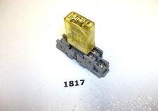 IDEC RH1B-U 24vdc 1 pole Relay and Base 1817