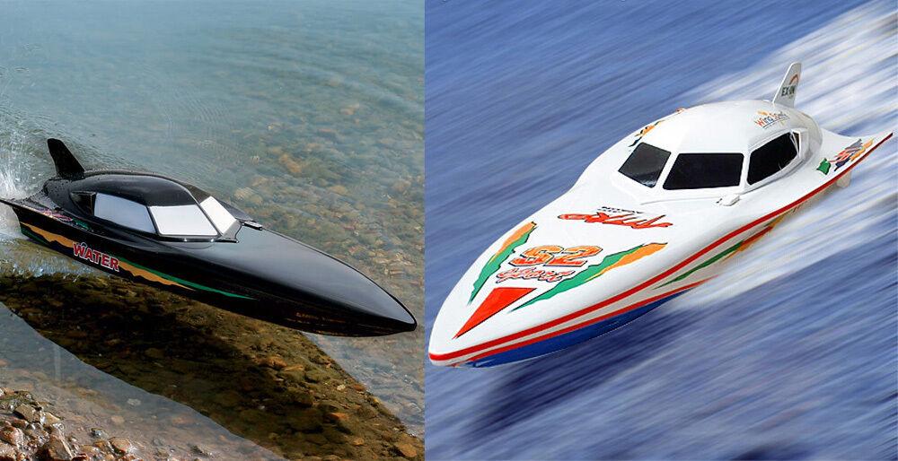 RADIOCOuomoDO Nero  + Bianco STEALTH RC RACING SPEED BARCHE BATTAGLIA COPPIA Syma 7000  marchio famoso