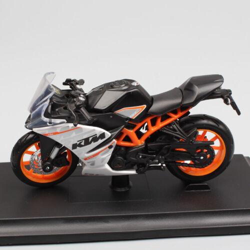 Maisto 1:18 scale KTM RC390 Motorcycle Diecast model Sport race motorbike toy