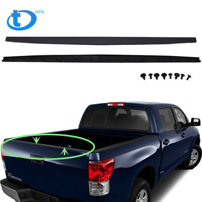 Tailgate Molding Cap Textured Black For TOYOTA TUNDRA 2007-2013 w// Clips