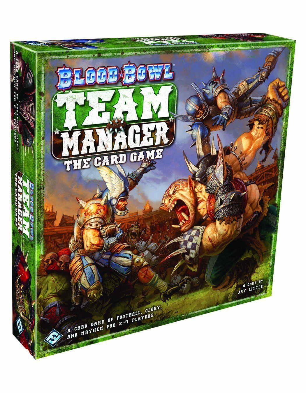 Blood Bowl Team  Manager - Kortspel [Kortspel, 2-4 spelare, 90-Min] ny