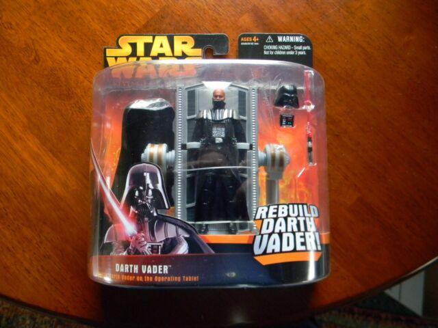 Star Wars REBUILD DARTH VADER w// Operating Table Revenge of the Sith MOC Hasbro