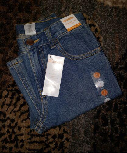 NWT Gymboree Boys Classic Jeans Size 7 Adjustable Waist Denim
