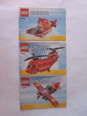 31003 Zahlreich In Vielfalt Effizient Lego® Bauanleitung Instruction Nr