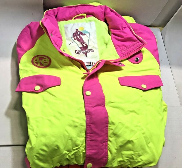 a5a4072546 Tipsy Elves Women s Neon Yellow Powder Blaster Ski Suit X-large for ...