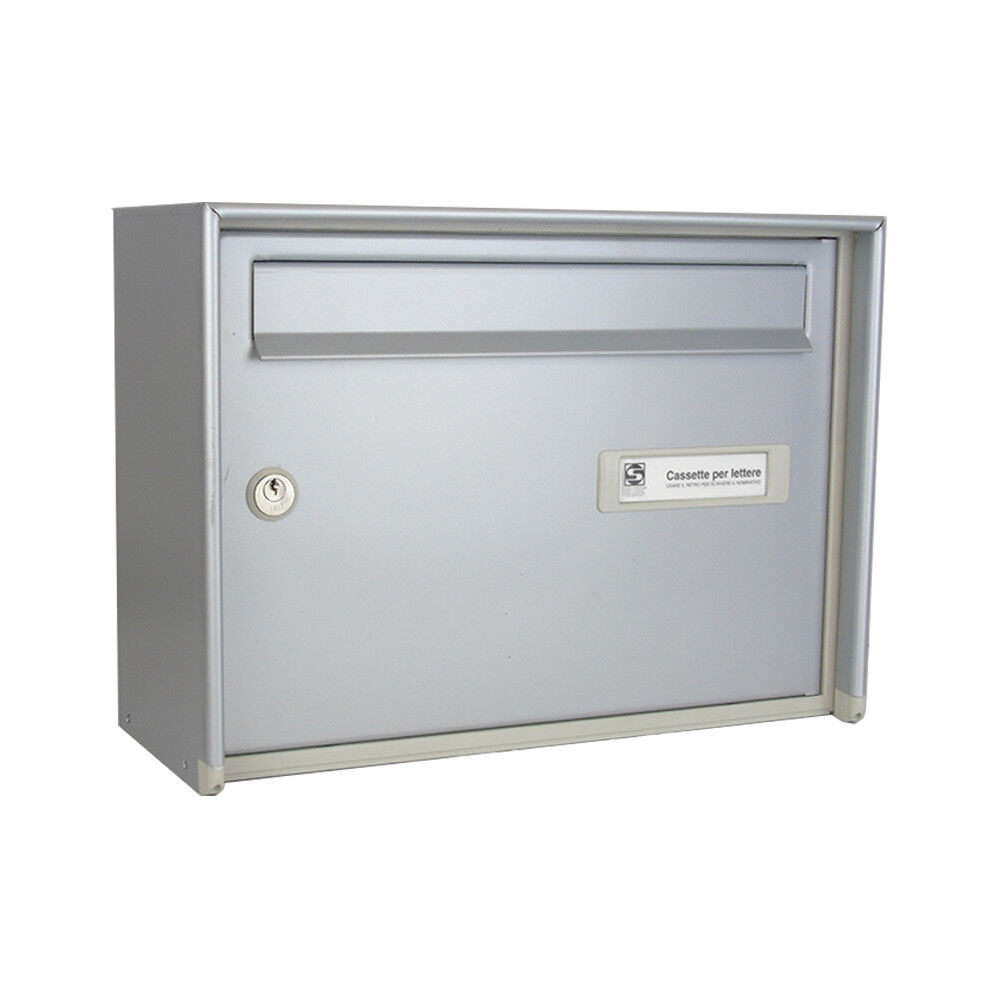 Italian Open Air Large Capacity Wall Mounted Post Box