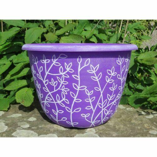 """2 x 12/"""" Serenity Pantone fioriera vasi ciotola per Casa Giardino Pianta Decorazione Vaso Di Fiori"""