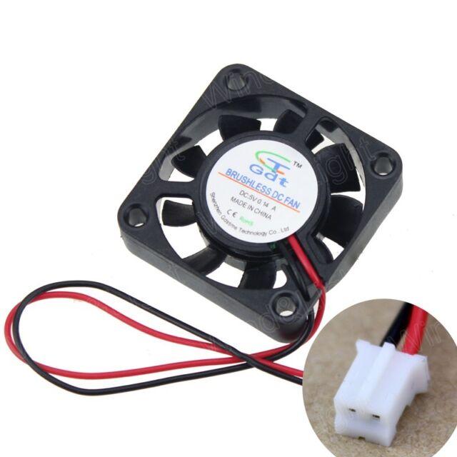 5V 2-Pin DC Cooling Fan 40mm 40x40x10mm 40*10mm 9 Blade Mini Brushless Cooler