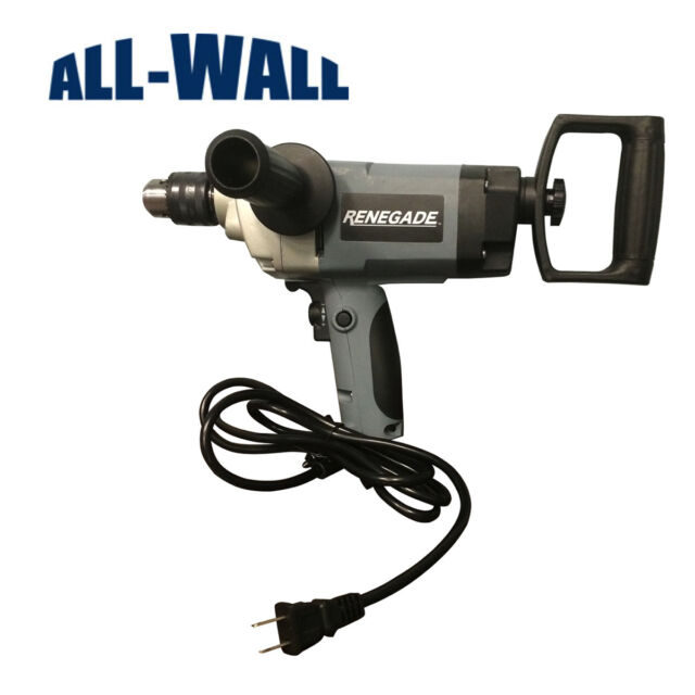 Renegade 1//2 inch Spade Drywall Mud Mixing Drill RGDSHD12 **NEW**