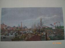 Hamburg - historische Ansicht: Stadt und Binnenhafen vom Blockhaus, Suhr um 1835