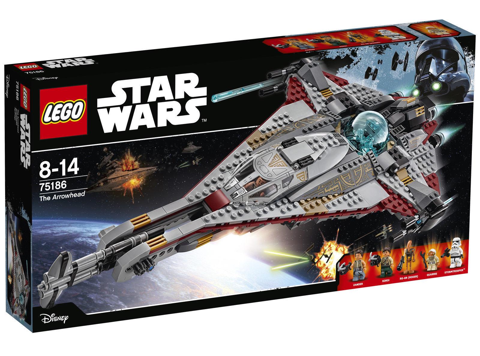 LEGO STAR WARS LA FRECCIA 2017  75186  - 2018 Nuovo di Zecca