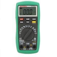 MASTECH MS8221C Digital Multimeter Auto Range AC DC V A Temp Resis Cap hFE Test