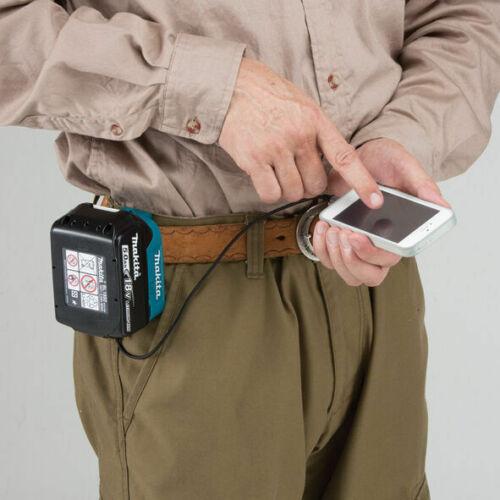 Makita ADP05 Twin USB Li-ion Battery Charger Adaptor for BL1830 BL1840 BL1850