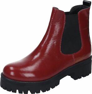 Piazza Stiefeletten Schnürstiefel Leder Damen Boots gelb 36-42 962213-6 Neu28