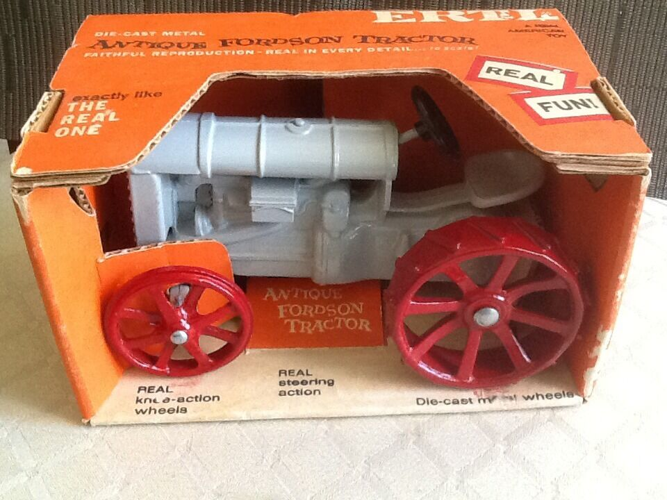 Antique Fordson Tractor New Old Stock in Box No Bar Code from Early 70's