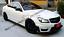 One Fin C320 Mercedes w204 Classe C Grille C180 Noir Brillant Série AMG C63