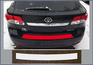 bumper paint protection film transparent toyota avensis. Black Bedroom Furniture Sets. Home Design Ideas