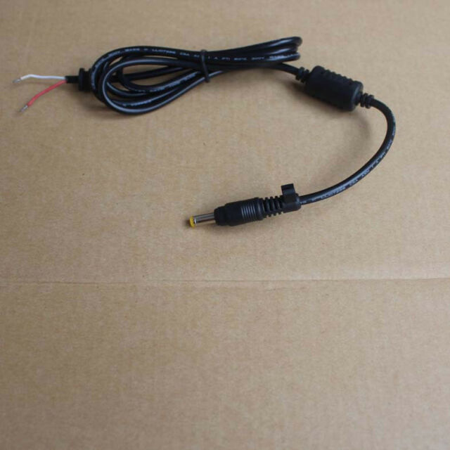 DC Power Tip Plug Connector with Cord Cable For HP ASUS 4.8/1.7mm