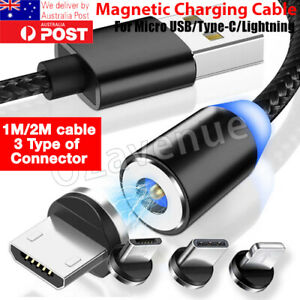 AU-360-Round-Magnetic-Charger-Adapter-IOS-Micro-USB-Type-C-Fast-Charging-Cable