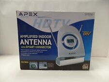 Apex SM550 Digital Amplified Indoor Silver Antenna HDTV Smart Connector