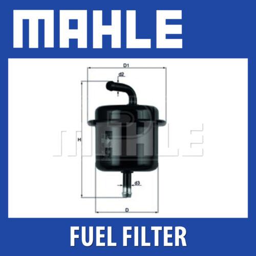 MAHLE Filtro Carburante kl136-Si Adatta a SUZUKI-Genuine PART