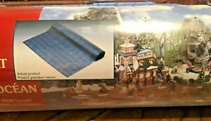 Lemax Village Collection Ocean Display Mat Train Layouts N Ho O O/27 Diorama