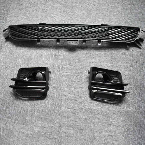 Front Bumper Lower Radiator Grilles Grill For 2014-2017 14-17 Infiniti Q50 Sport