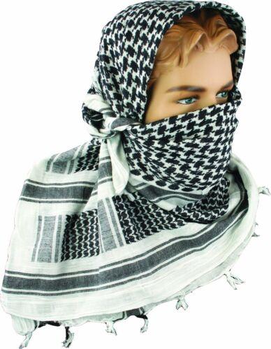 Armée Shemagh militaire ÉCHARPE TACTIQUE PATROL Shemagh combat Keffieh blanc Arafat