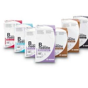 100 Stück SEIRIN B-Type Akupunkturnadeln Akupunktur Nadel diverse Größen