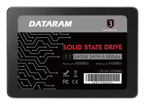 """DATARAM 240GB 2.5/"""" SATA 6.0 Gbps  2.5/"""" SSD FOR APPLE MACBOOK  AND MACBOOK PRO"""